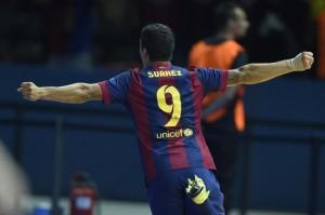 Barcelona campeón Champions 2015. Suarez anotó un nuevo gol decisivo, como hizo en El Clásico