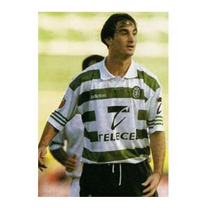 Leandro Machado con la camsiseta del Sporting de Portugal. Fuente: sportingcanal.com
