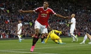 Cómo juega Anthony Martial. Celebrando su primer gol. ( Vía kualalumpurpost.net )