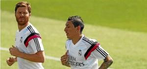 Xabi Alonso y Di María fueron dos bajas más sensibles de los esperado. Bunkerdeportivo.com