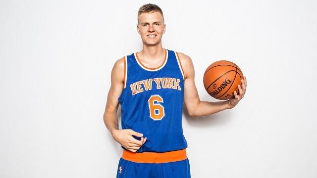 Kristaps Porzingis. Futuras estrellas NBA.
