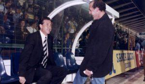 Jorge Valdano en su etapa como entrenador ché. Fuente: lasprovincias.es