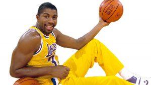 Magic Earvin Johnson. El mejor quinteto de la historia de la NBA
