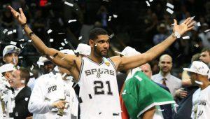 Timothy Duncan. El mejor quinteto de la historia de la NBA