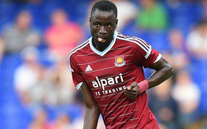Kouyate, centrocampista del West Ham. caughtoffside.com
