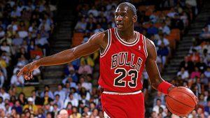 Michael Jeffrey Jordan. El mejor quinteto de la historia de la NBA