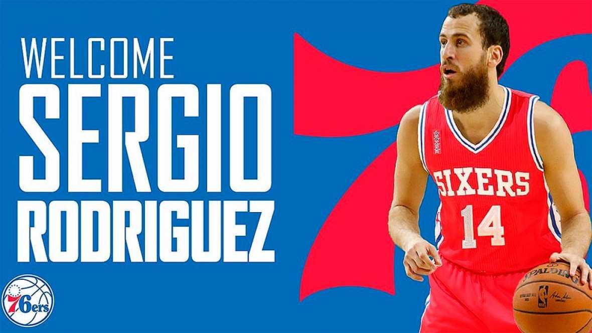 Sergio Rodríguez, nuevo base de los Philadelphia 76ers