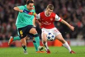 Wilshere Xavi Arsenal
