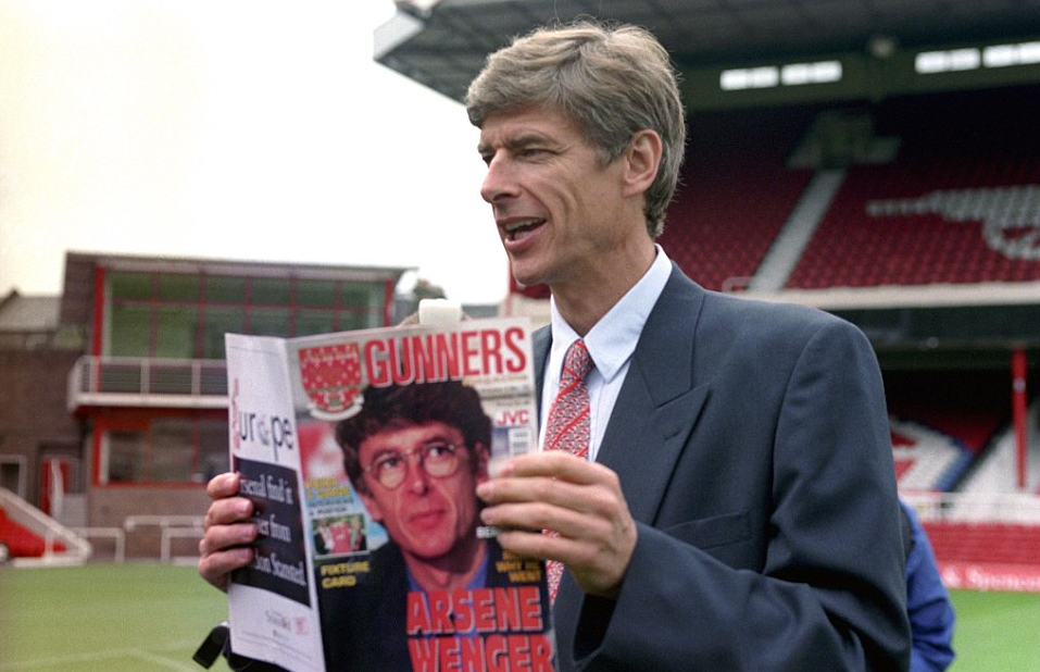 Wenger Arsenal 20 years
