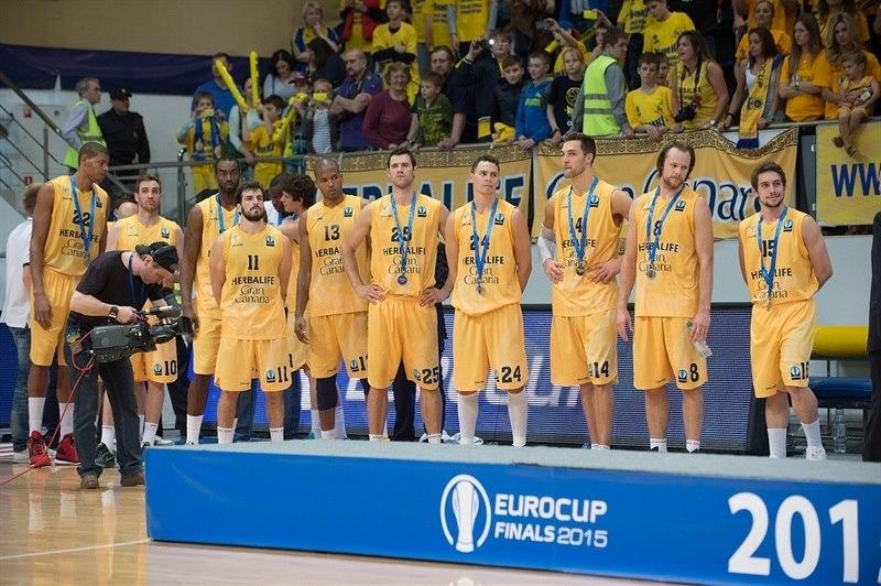 El Gran Canaria es el actual subcampeón de la Eurocup. Análisis Herbalife Gran Canaria