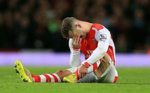 Wilshere Injury