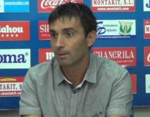 Presentación de Asier Garitano como entrenador del C.D. Leganés. historia ascensos leganés