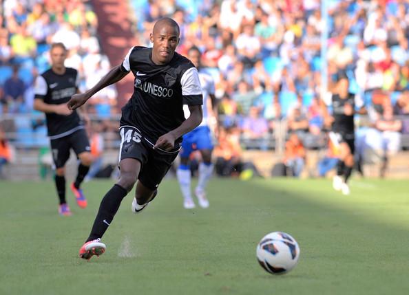 Olinga con su único gol entró en la historia. Jugador más joven en marcar en liga. fracasos del Málaga