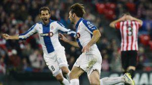 El Athletic Club es el rival favorito de Víctor Sánchez (Espanyol).