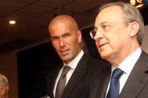 zidane-y-florentino Análisis Zidane entrenador Real Madrid
