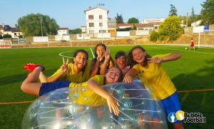 El fútbol burbuja es 100% diversión. Vía bubblefootball.es