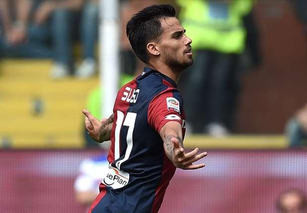 Suso celebrando uno de sus dos goles contra la Sampdoria.goal.com