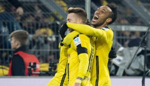 Dortmund festejando vía:Twitter.com