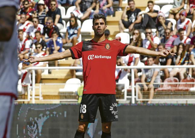 Juan Domínguez, muy contento en el Mallorca. Entrevista a Juan Domínguez