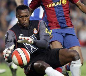 Kameni es el último portero del Espanyol que consiguió dejar su portería a cero en el Camp Nou ante el Barcelona.