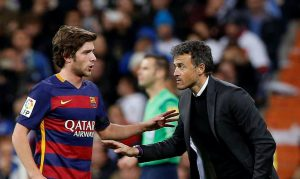 El '20' del Barça, Sergi Roberto, se ha convertido en el comodín perfecto para Luis Enrique y el FC Barcelona. Trayectoria Sergio Roberto