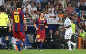 Sergi Roberto debutó en Champions League de la mano de Pep Guardiola ante el Real Madrid, el día en que Messi hizo otro gol Maradoniano